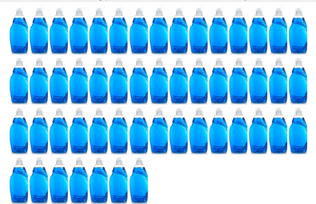 WASHING UP BOTTLES